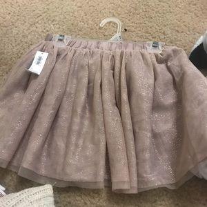 Size 4t girls glittery skirt